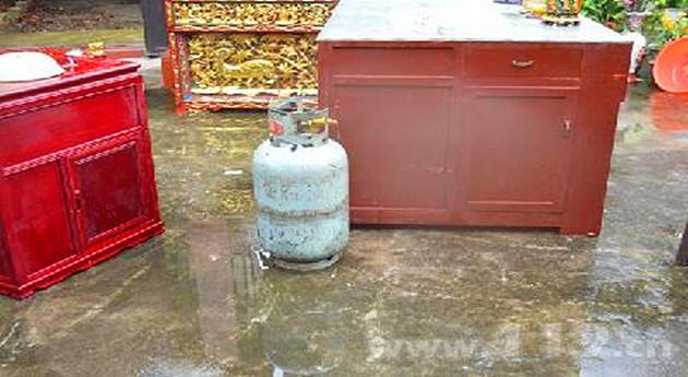 消防安全转移煤气罐