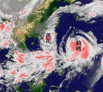 """双台风携风雨""""夹击""""福建"""