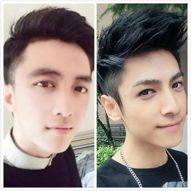 男生自己修剪头发变男神