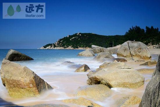 福州天涯海角——目屿岛的碧海银沙