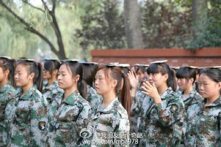 这所大学军训可以带手机!用途是这样的