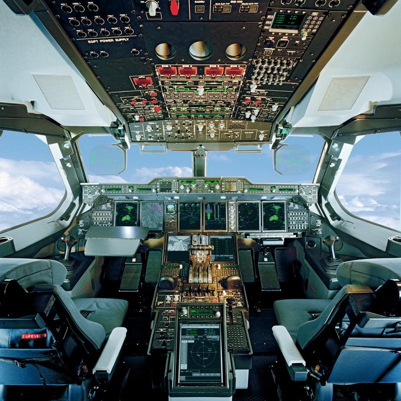 近距离接触A400M运输机驾驶舱
