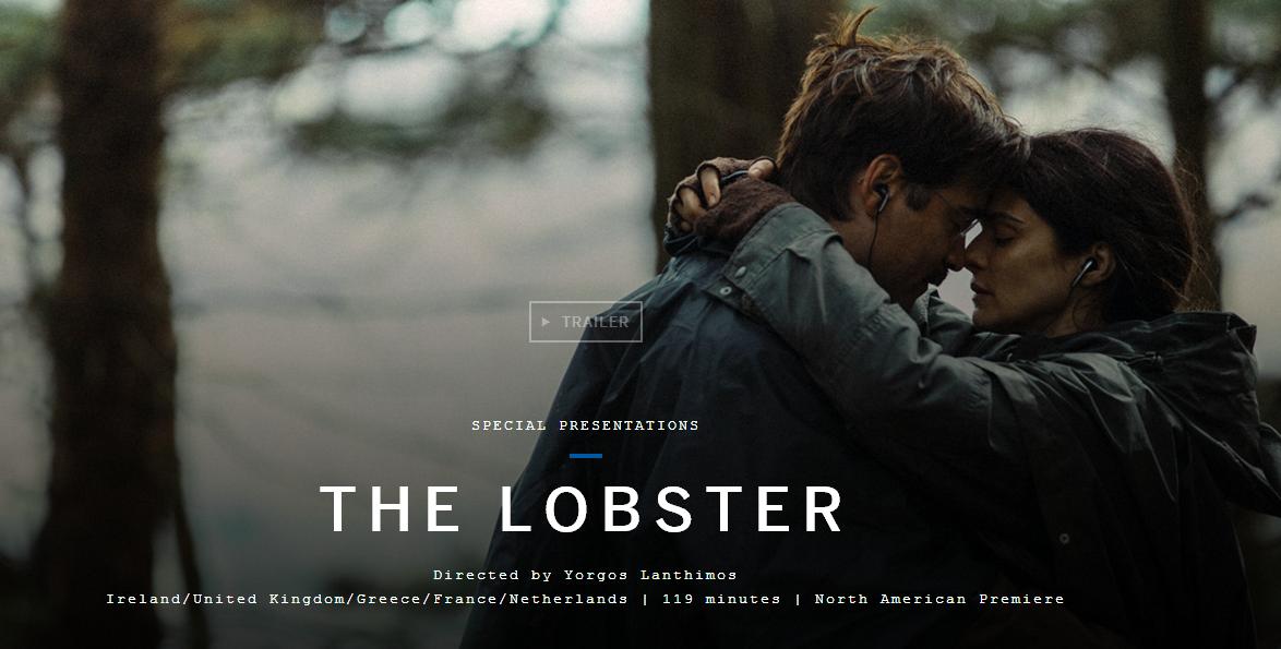《龙虾》是今年戛纳电影节的竞赛片,拿了评审团大奖。 都是讲单身与否,比起上面的《同等族群》,这部《龙虾》脑洞开得要大得多。 片中的未来世界,每个人必须找到一个伴侣。 如果没有,单身者就会变成各种动物猪、狗、鹦鹉、龙虾等等。