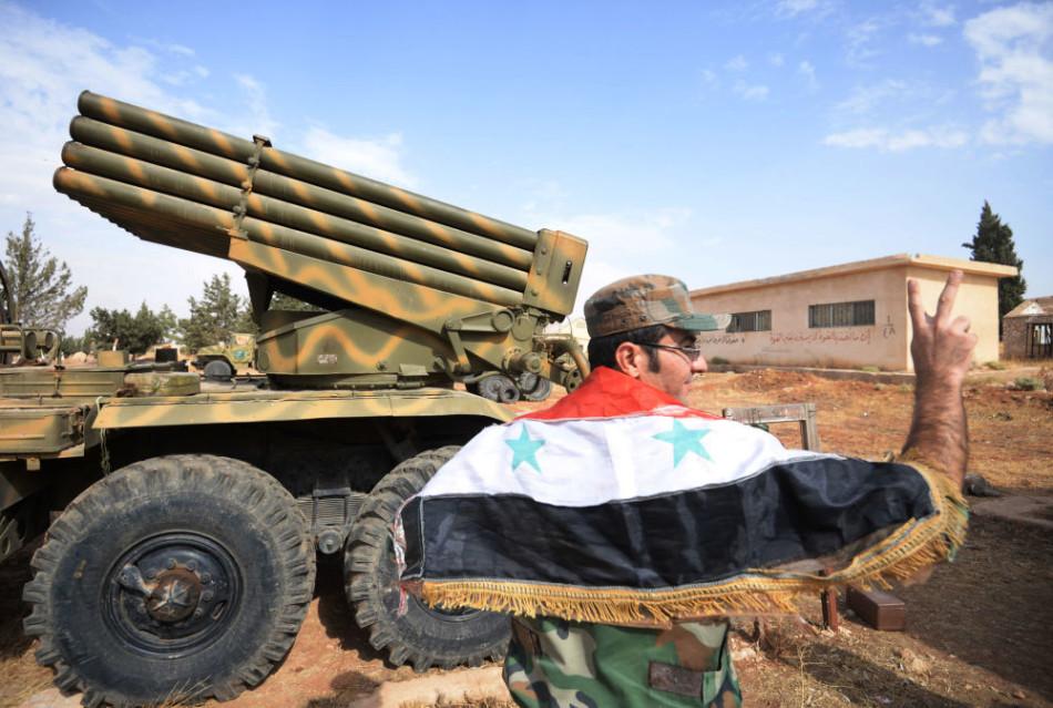 叙利亚政府军精锐部队近照曝光