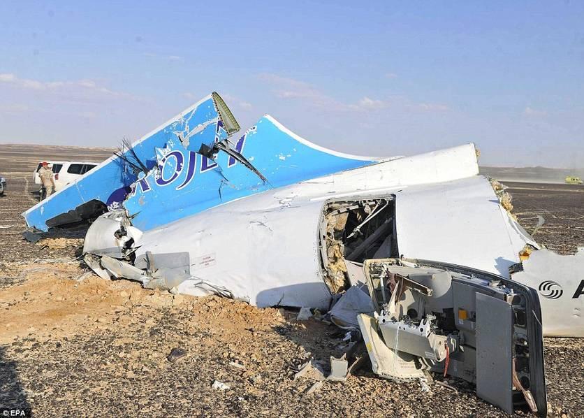 俄罗斯客机坠毁现场_头条图文