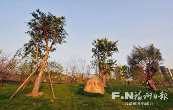 """福州沙滩公园二期6月完工 新建榕树广场再现""""金山八景"""