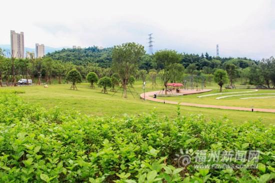 福州首个海绵公园——牛岗山公园对外开放