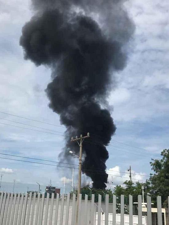哥伦比亚两船厂相继发生爆炸 造成6死22伤