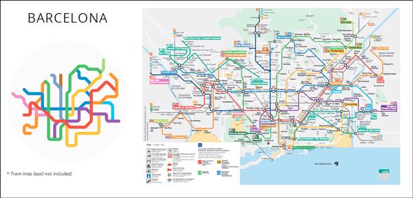 如果你感兴趣的话,不妨去查阅全数 220 个作品,找找你喜欢的城市,或是居住的城市。 以及,在 220 Mini Metros 项目之外,Peter Dovak 还有不少作品,比如地铁图标的设计,地铁标识导向系统的设计等等。