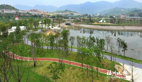 涧田湖公园基本建成 景观绿化收尾工作本月结束
