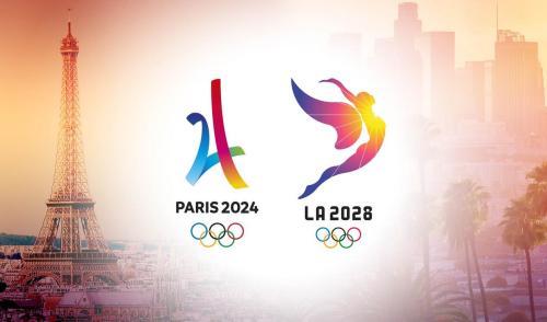 巴黎、洛杉矶毫无悬念当选。 图片来源:国际奥委会官网