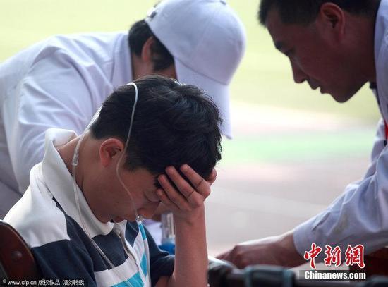 中学生运动会纪录40年无人破 学生体质引人担忧