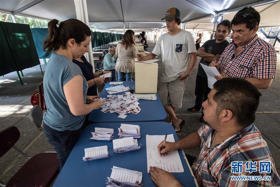智利总统和议会选举投票结束【2】