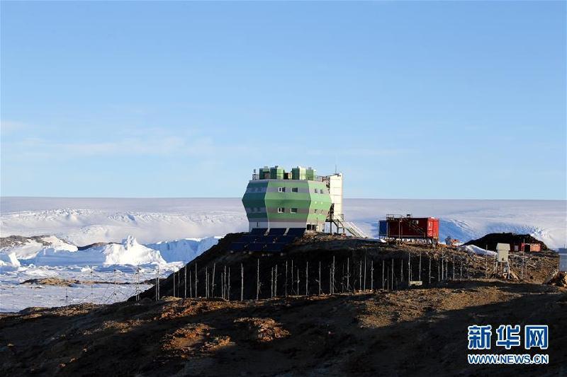 (第34次南极科考·图文互动)(1)通讯:中山站正是雪化时