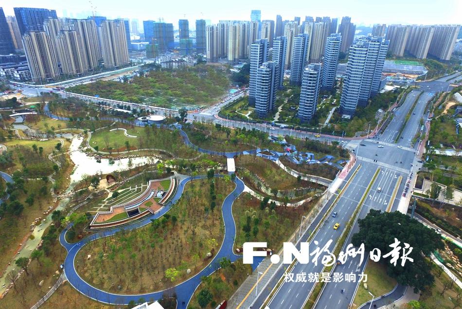 福州12个县(市)区12座生态公园春节前集体亮相