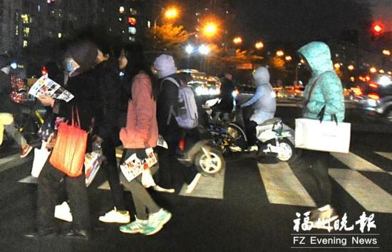 福州:晴冷当道 霜冻登场