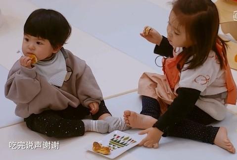 贾静雯女儿咘咘与Bo妞