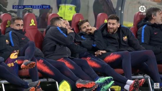梅西为何带伤踢商业赛?皮克:你不上对方会少给钱