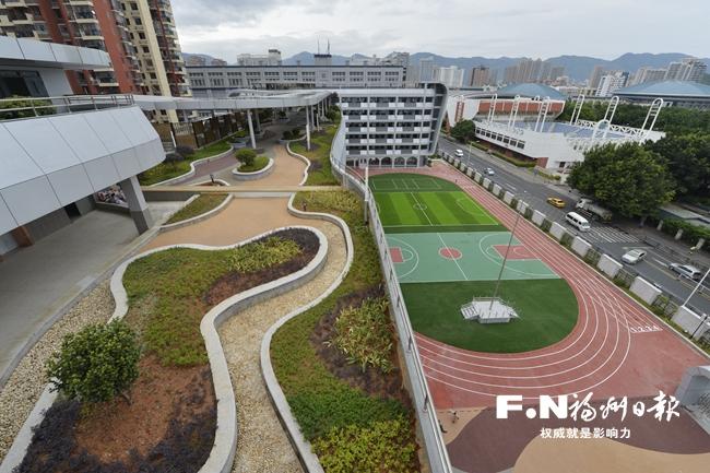 鼓楼区3所改扩建学校今秋投用 配备高大上新设施