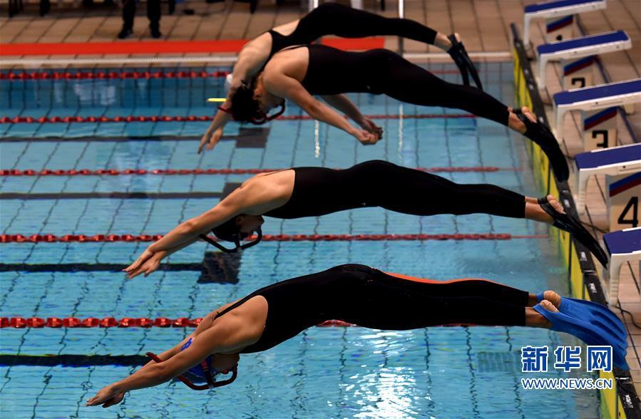 (体育)(2)蹼泳——全国蹼泳锦标赛在福建将乐开赛