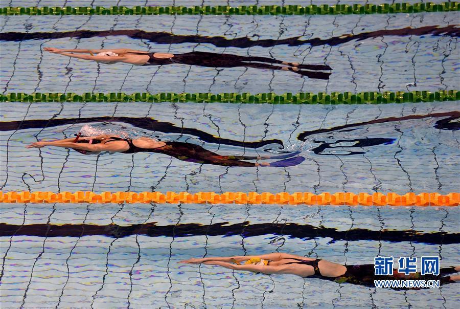 (体育)(1)蹼泳——全国蹼泳锦标赛在福建将乐开赛