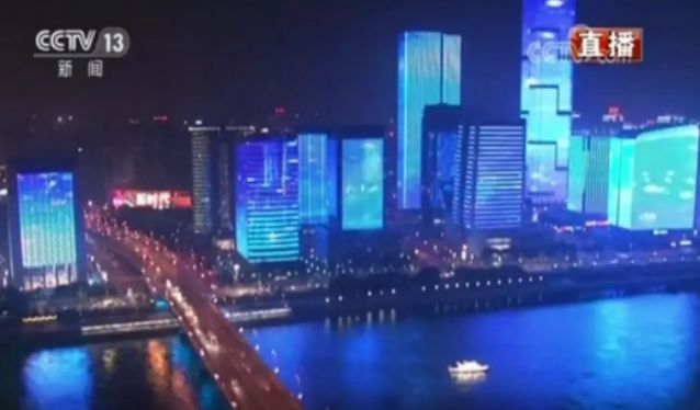 震撼!除夕夜,福州这场灯光大秀4次亮相央视,惊艳全球!