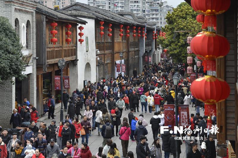 春节假期福州旅游收入超亿元