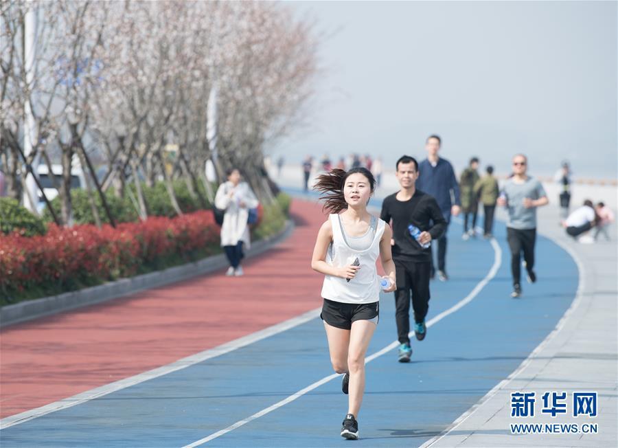 (城市绿道建设·图文互动)(1)三千公里绿道:营造杭州发展新空间