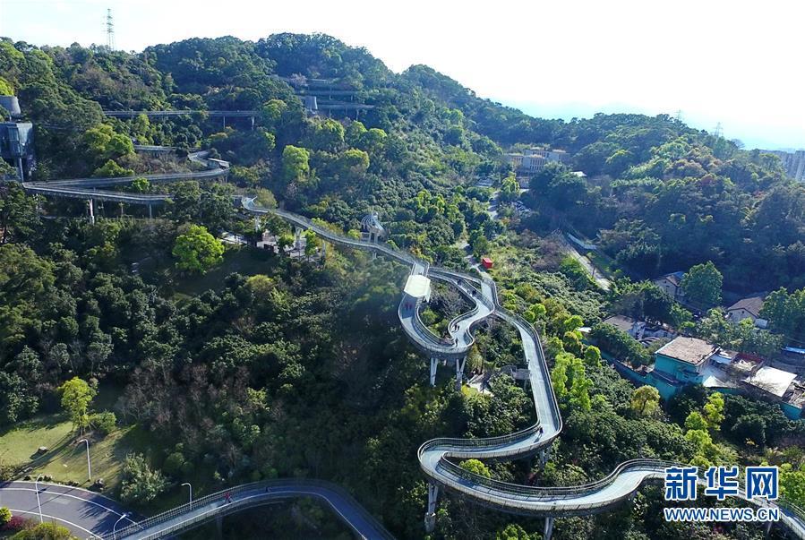 (城市绿道建设·图文互动)(1)榕城绿意今更浓——福州推进城市绿道建设让民众畅享山水之美