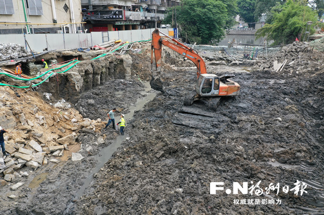 """福州城区水系治理加速展开""""清盘行动"""""""