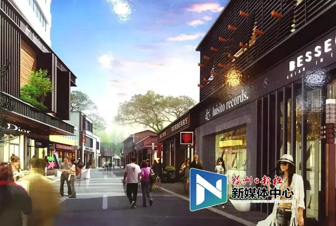 谍照曝光!2.0版仓山学生街要长这样!春节前或开街运营!