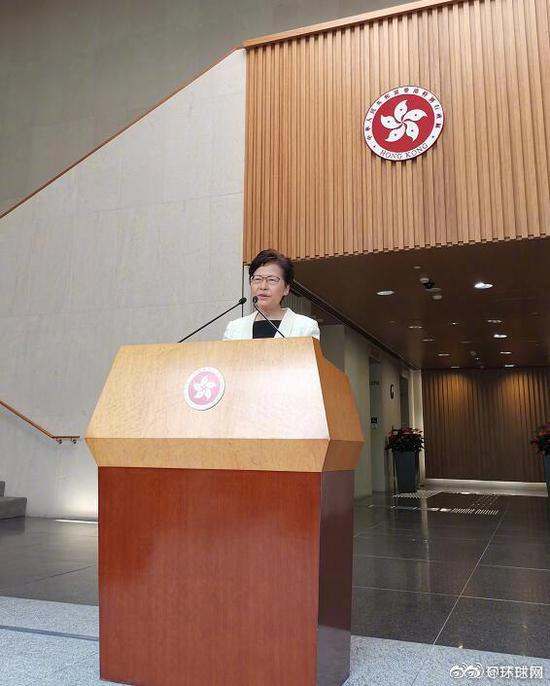 林郑月娥回应辞职传闻:从未向中央提过辞职
