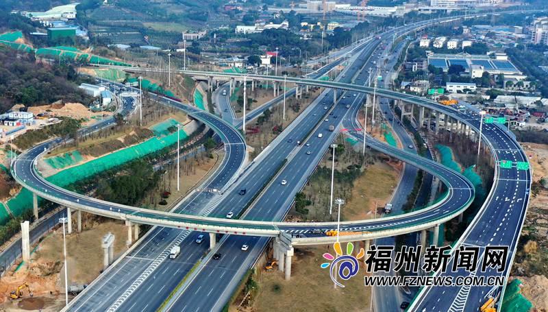 104国道三环路园中互通至连江琯头22日通车