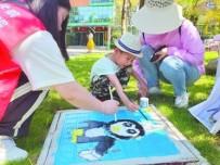 手绘多彩公园