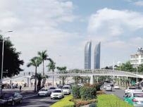 厦门环岛路将新增两座天桥