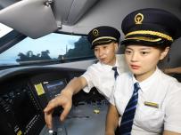 """动车组女司机金婉鑫的""""贴地飞行""""梦"""