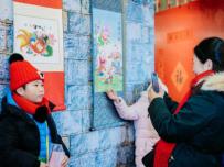中外游客体验鼓岭传统中国年俗盛宴