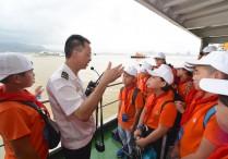 福州:小学生航海夏令营开营