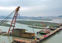 道庆洲大桥施工预计下月初完成