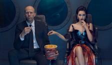 电影《巨齿鲨》广州路演 票房破八亿受追捧
