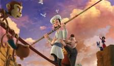《阿凡提之奇缘历险》发布冒险版海报 阿凡提勇走高空达瓦孜