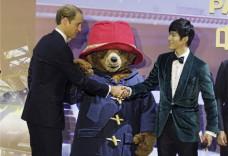陈学冬首度配音献声英国萌熊 与威廉王子亲切握手