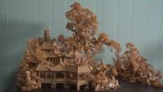 福建文化记忆 | 山河尽收一画间!独具匠心的西园软木画