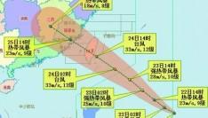 """11号台风""""白鹿""""生成 逐渐向台湾东部沿海靠近!省防指召开会商会"""