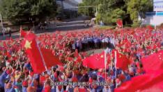 福建省五级人大代表与三钢工人共同歌唱伟大祖国