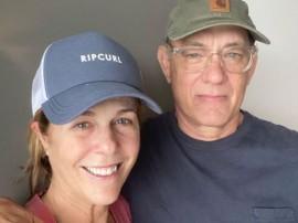 美国影星汤姆·汉克斯夫妇痊愈
