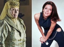 《权力的游戏》荆棘女王戴安娜·里格去世 曾出演邦女郎