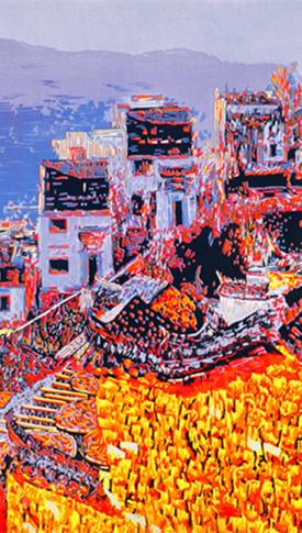 【文化遗产在福建】松溪版画:刀木之音 在色彩间咏怀