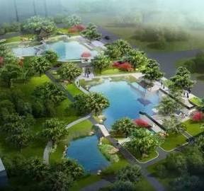 福州洋下海绵公园建设中 生态景观雨水蓄渗两不误