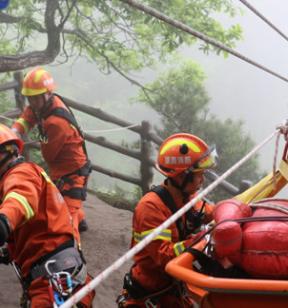 游客遇险,危崖峭壁难施救?张家界消防打造山岳救援专业队